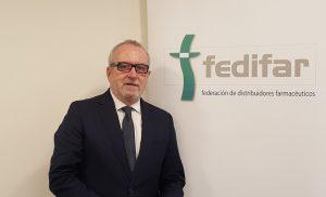 Eladio González, presidente de Fedifar.