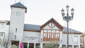 Fachada municipal del Ayuntamiento de El Boalo.