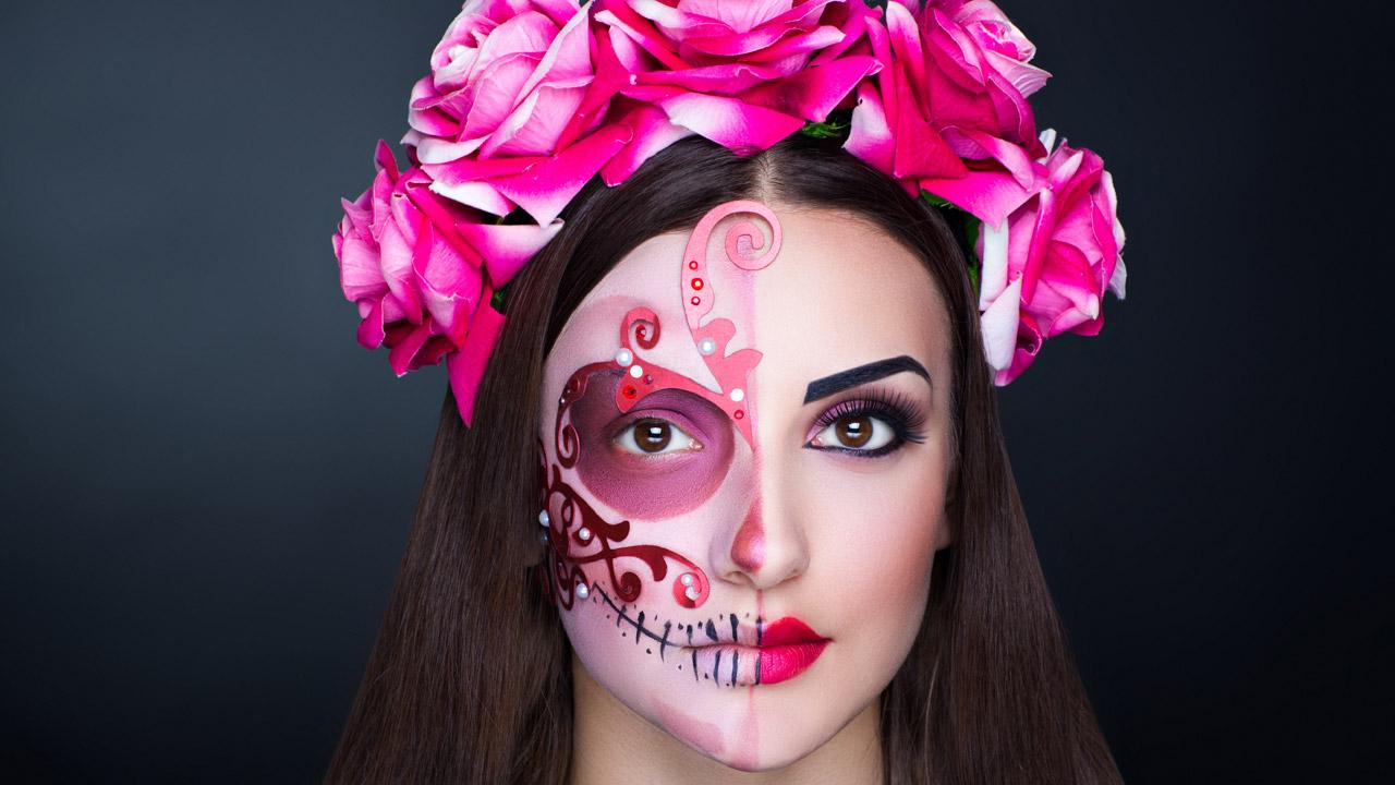 Maquillaje De Halloween Y Piel Cuidada Son Compatibles Correo - Maquillaje-halowin