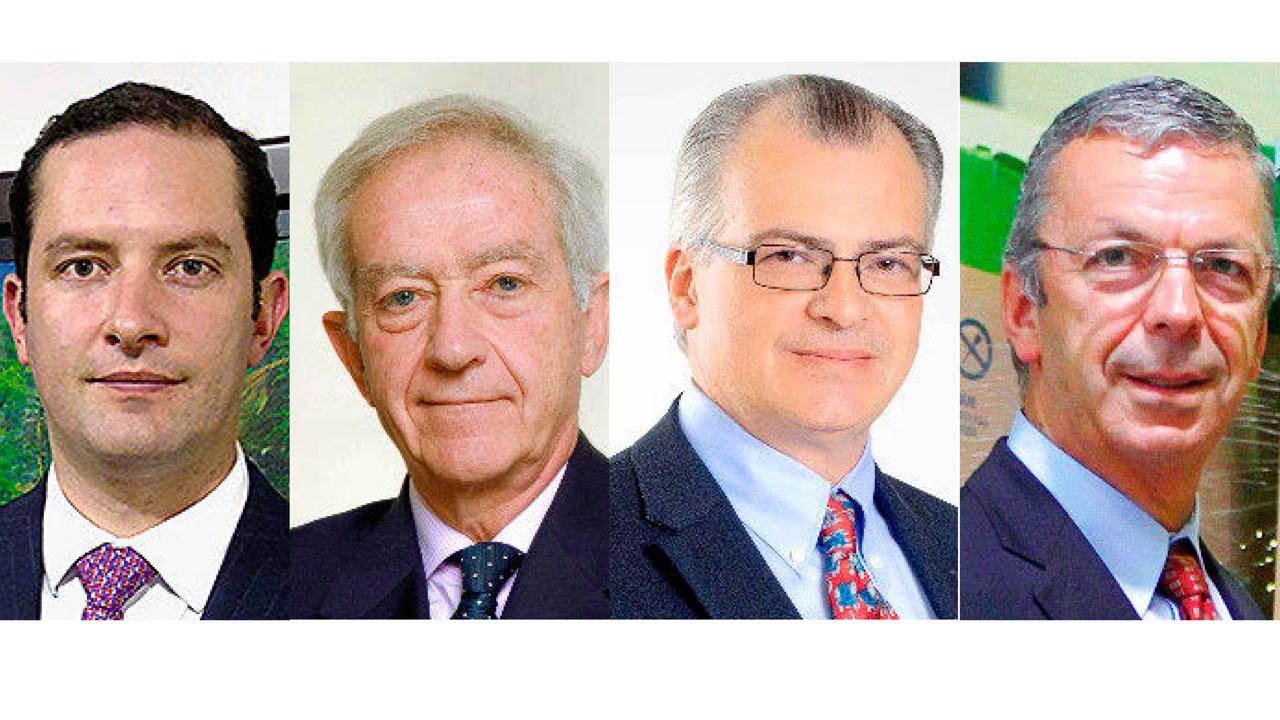 Jorge Trujillo, de Corporación Punto Azul (Colombia); Juan Carlos Mampaso, de Sigre (España); José Antonio Aedo, de Singrem (México), y Luis Figueiredo, de Valormed (Portugal).