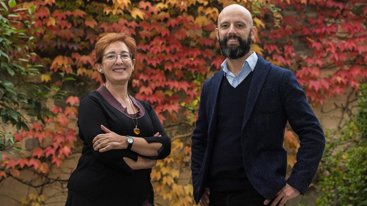 Feli Ecay, educadora del Centro de Especialidades José Marvá, en Madrid, y Serafín Murillo, de la SED.