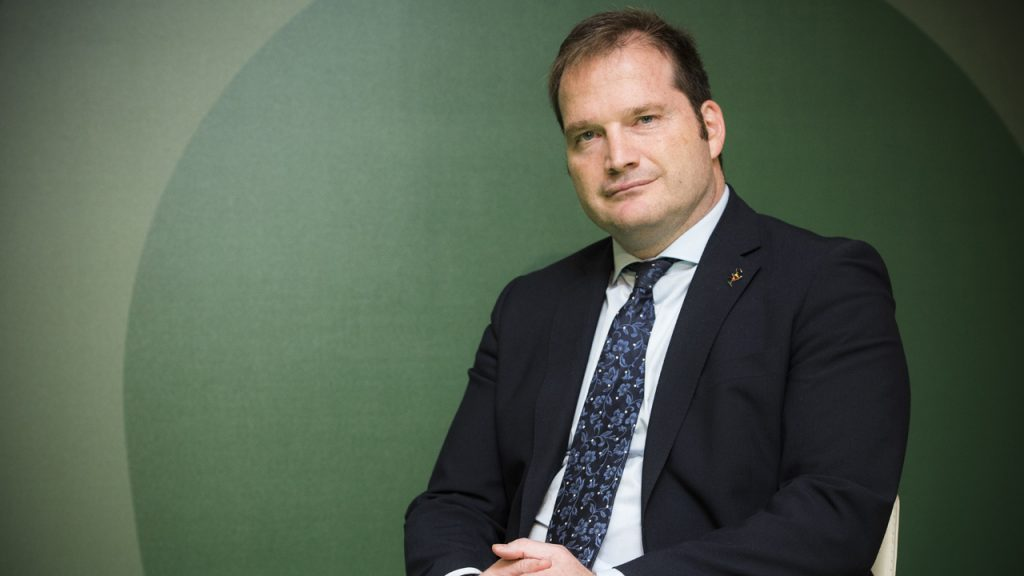 Carlos Treceño, presidente del Consejo de COF de Castilla y León.
