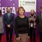 María José Gaspar (Departamento de Salud de Cataluña), Jordi Casas (moderador y COF de Barcelona), Montserrat Espuga (médico de familia), Fe Ballestero (COF de Alicante) y Luis González (COF de Madrid).