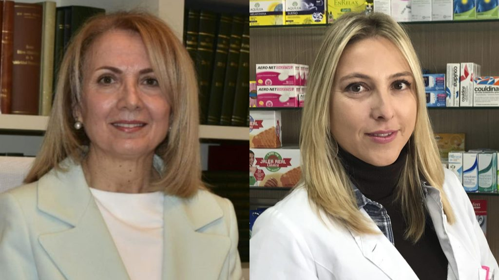 Pepita Ortega y Gema Martínez.