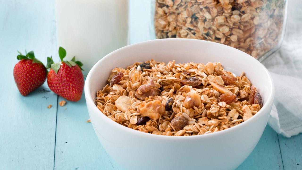se puede cenar cereales