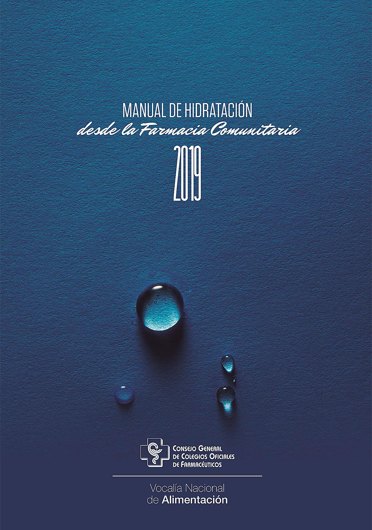 Manual de hidratación del Consejo General de COF.