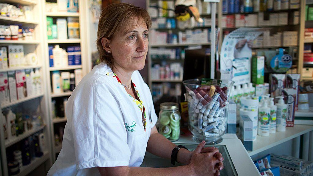 Raquel Casado Álvaro, farmacéutica en Buitrago de Lozoya (Madrid)