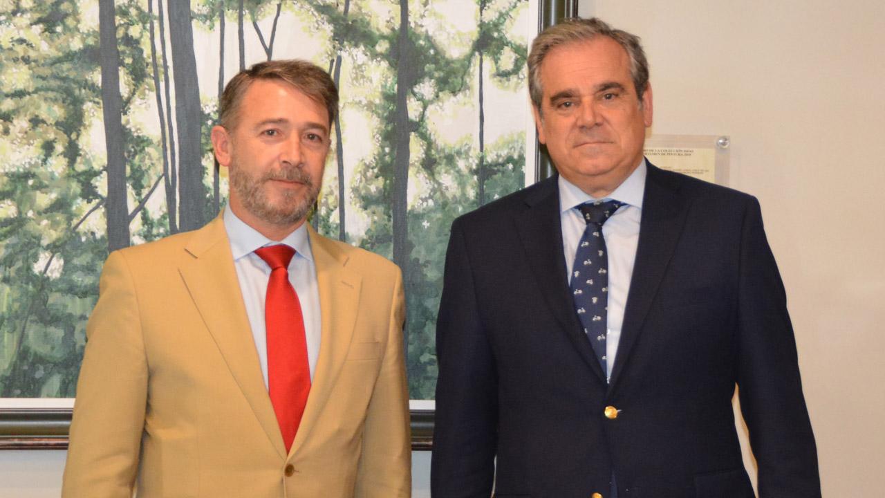 José Ramón Plaza Salazar y Jesús Aguilar.