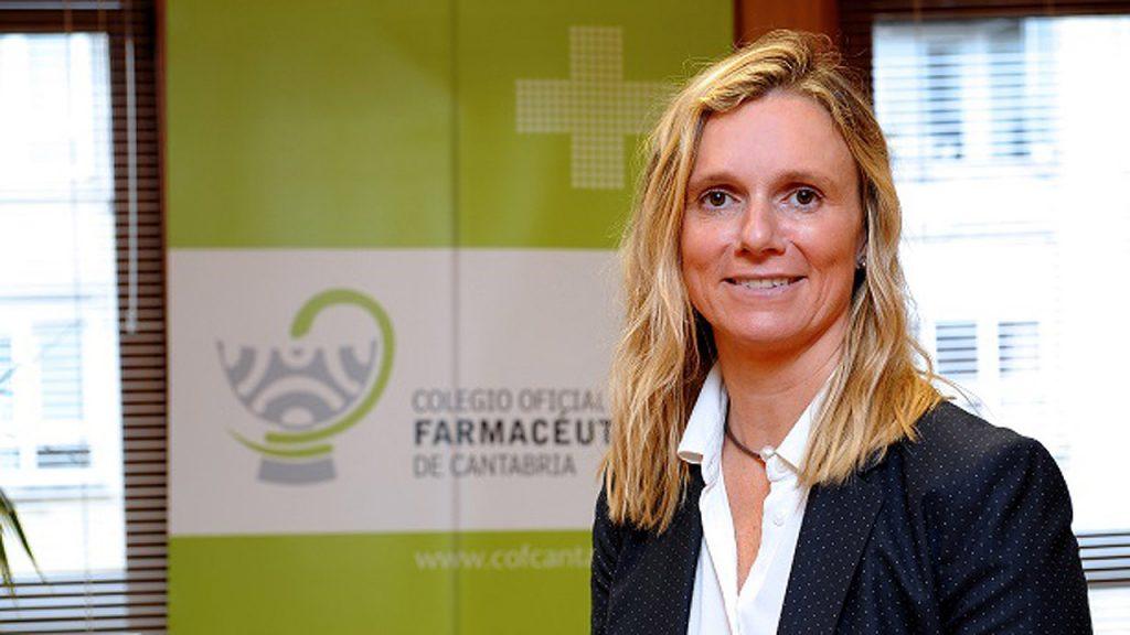Rita de la Plaza, presidenta del COF de Cantabria.