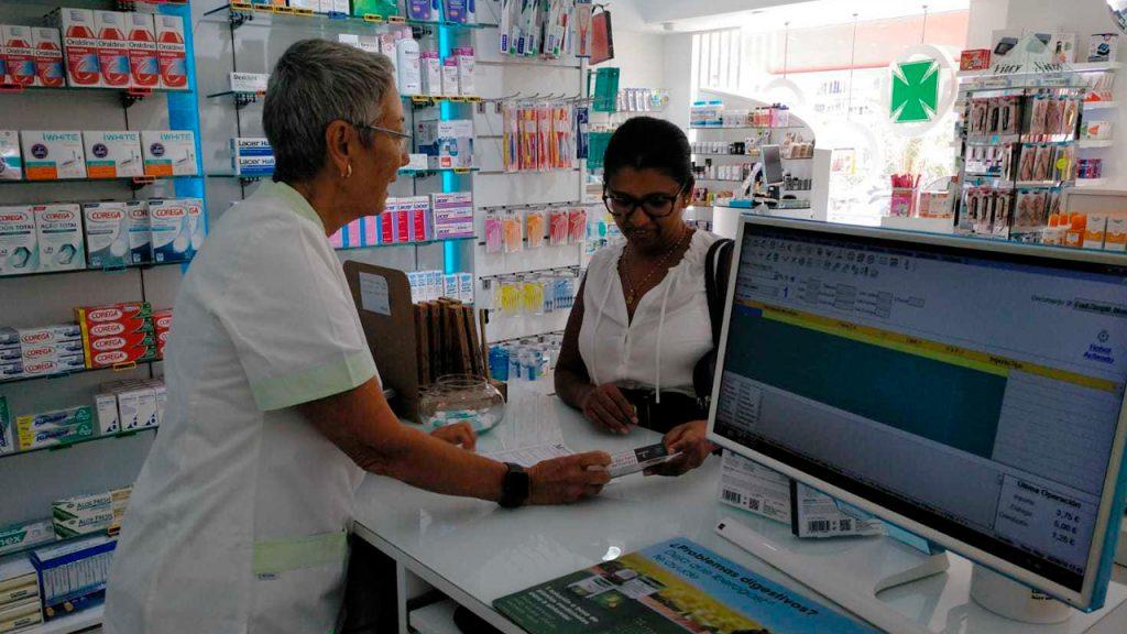 Farmacéutica en Maspaloma