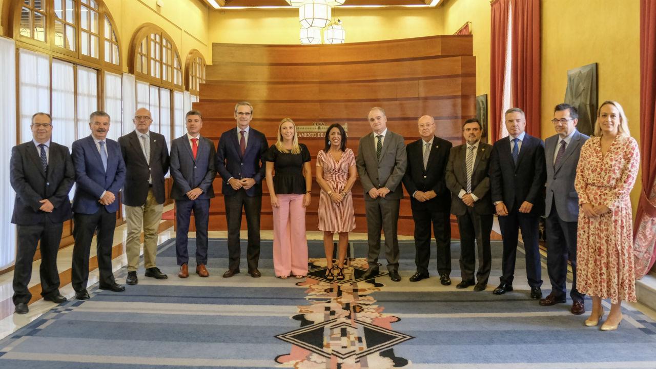 El Consejo Andaluz De Cof Presentan Sus Proyectos En El