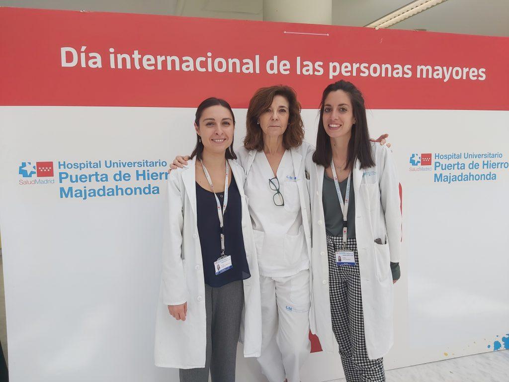 Marina Calvo Salvador, Rosa Capilla y Raquel Sanabrias.