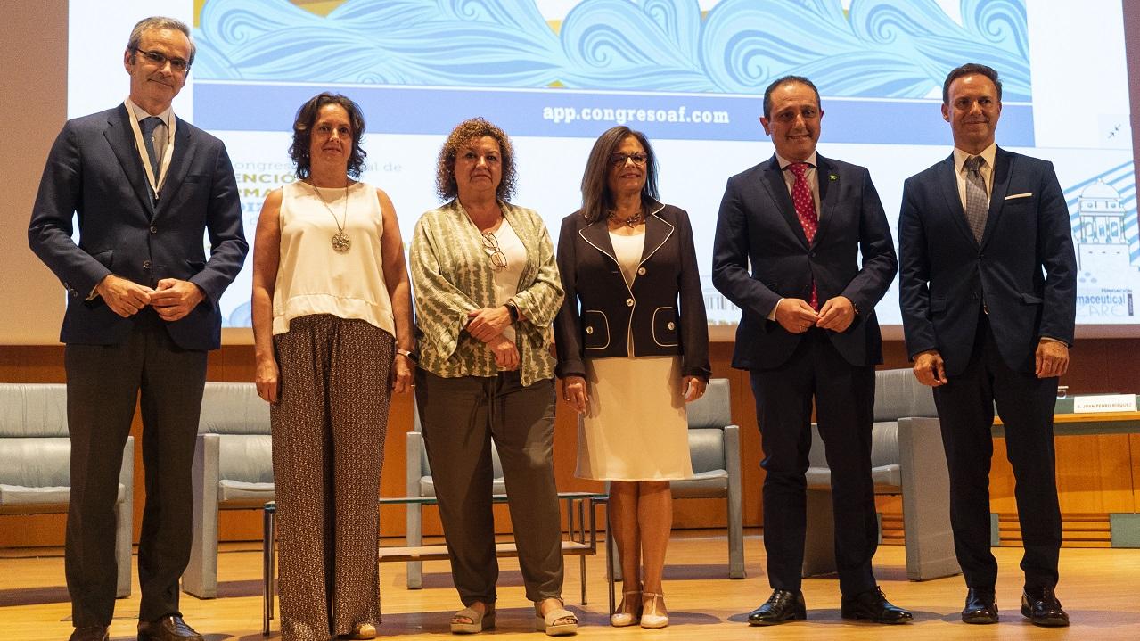 Ernesto Cervilla, Catalina García Carrasco, Eva Tubio, Mercé Martí, Juan Pedro Rísquez y Javier David de la Encina.
