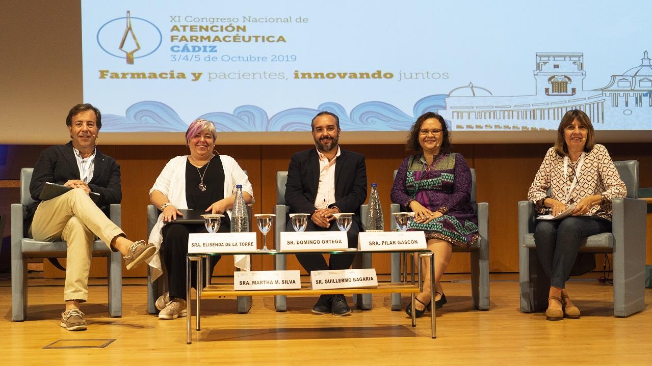 Guillermo Bagaria de Casanovas, Elisenda de la Torre, Domingo Ortega, Martha Milena Silva y Pilar Gascón.
