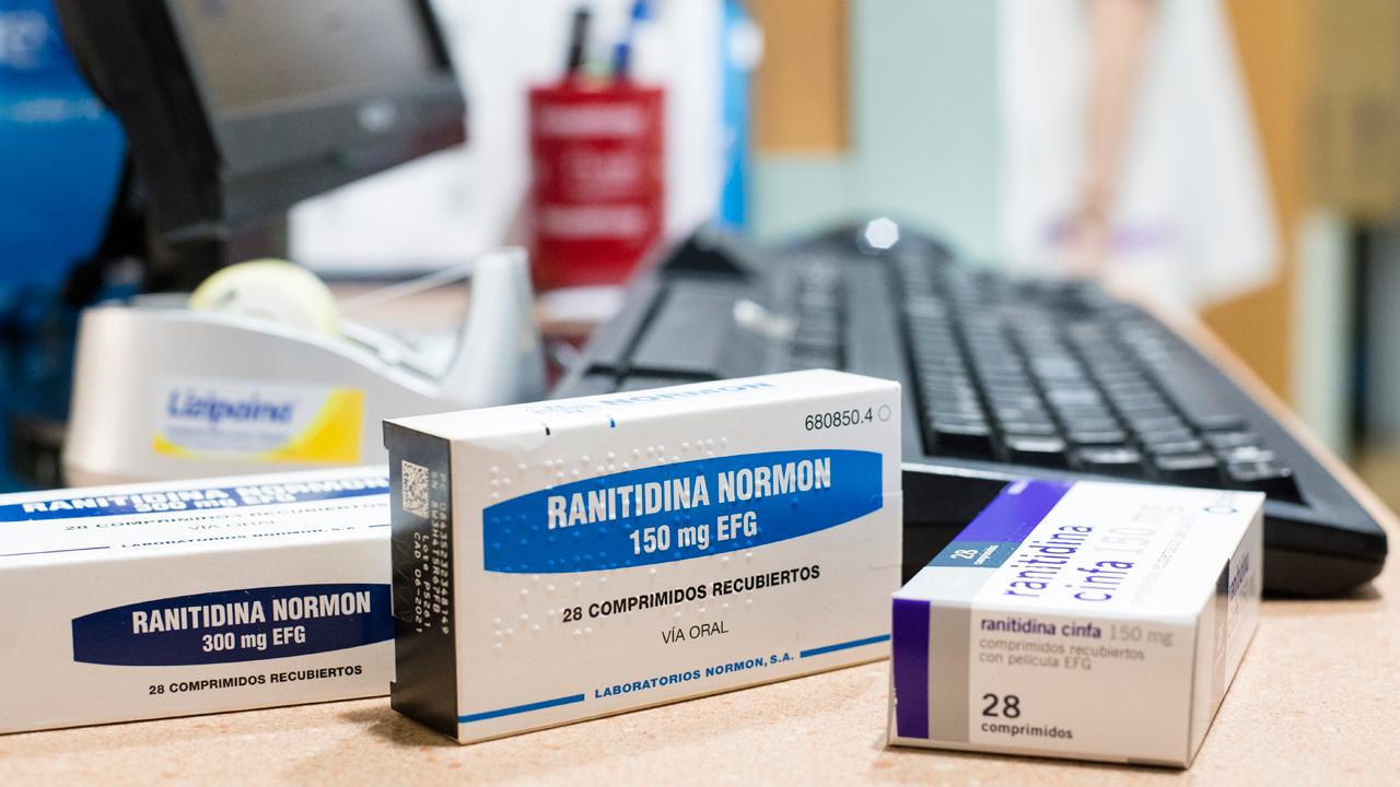 Retirada de medicamentos en la farmacia