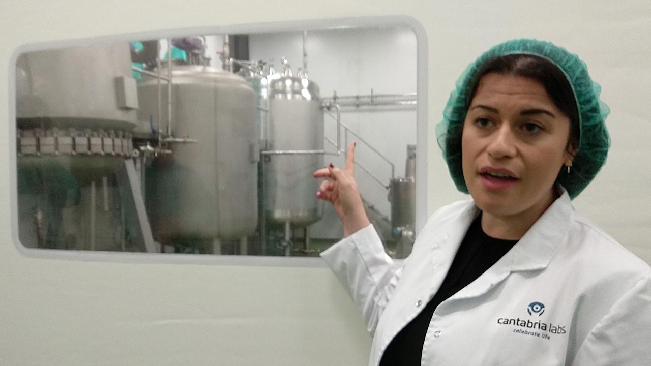 Diana Ruiz, química de Cantabria Labs.
