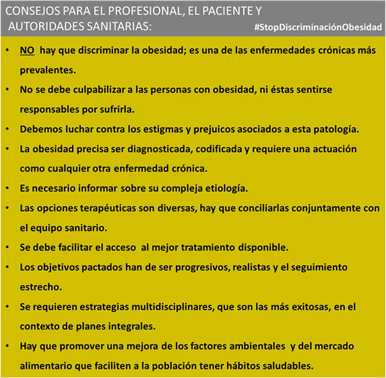 Recomendaciones de SEEN,Seedo y Semergen en torno al abordaje de la obesidad.