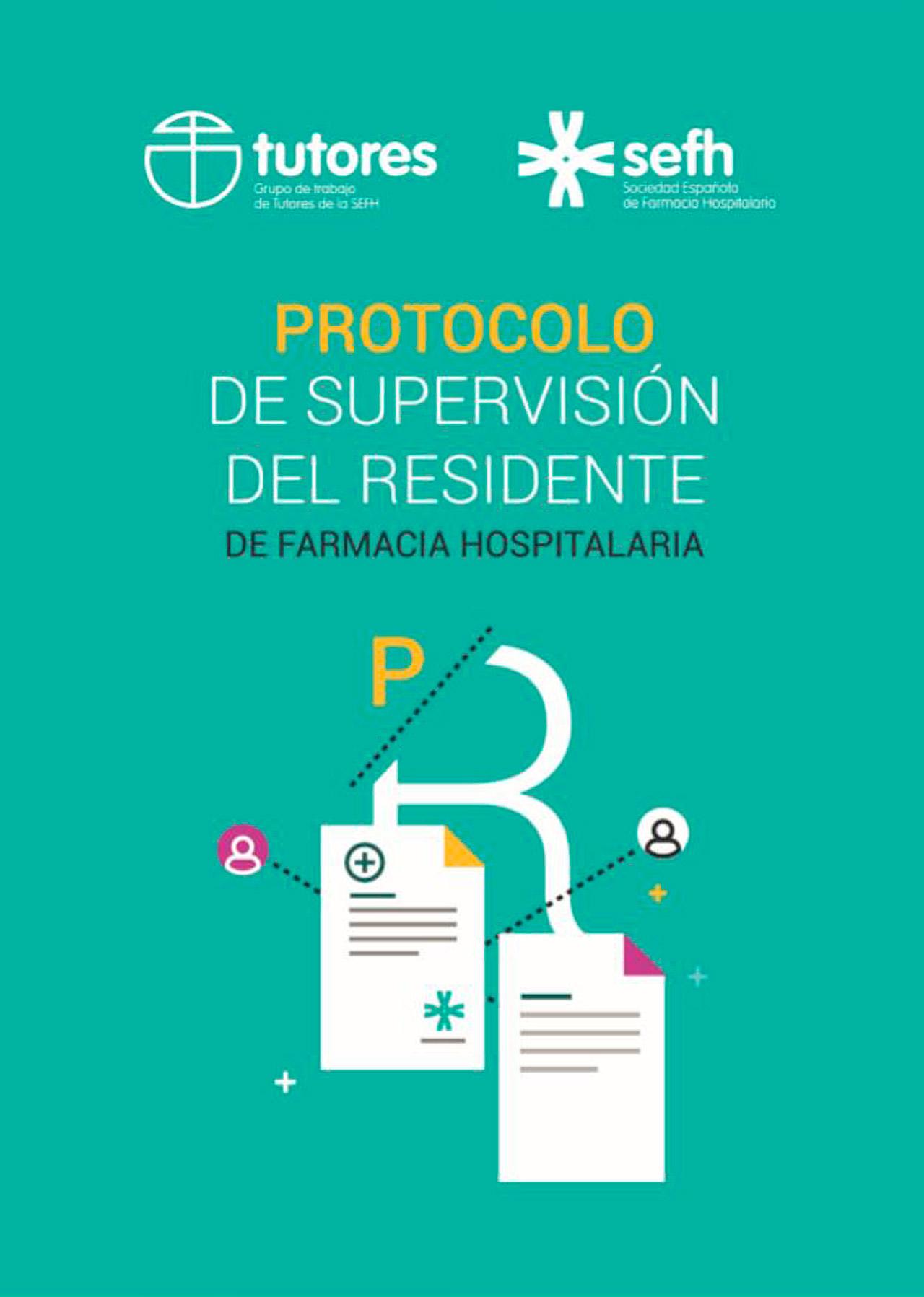Portada del 'Protocolo de supervisión del residente de Farmacia Hospitalaria'.