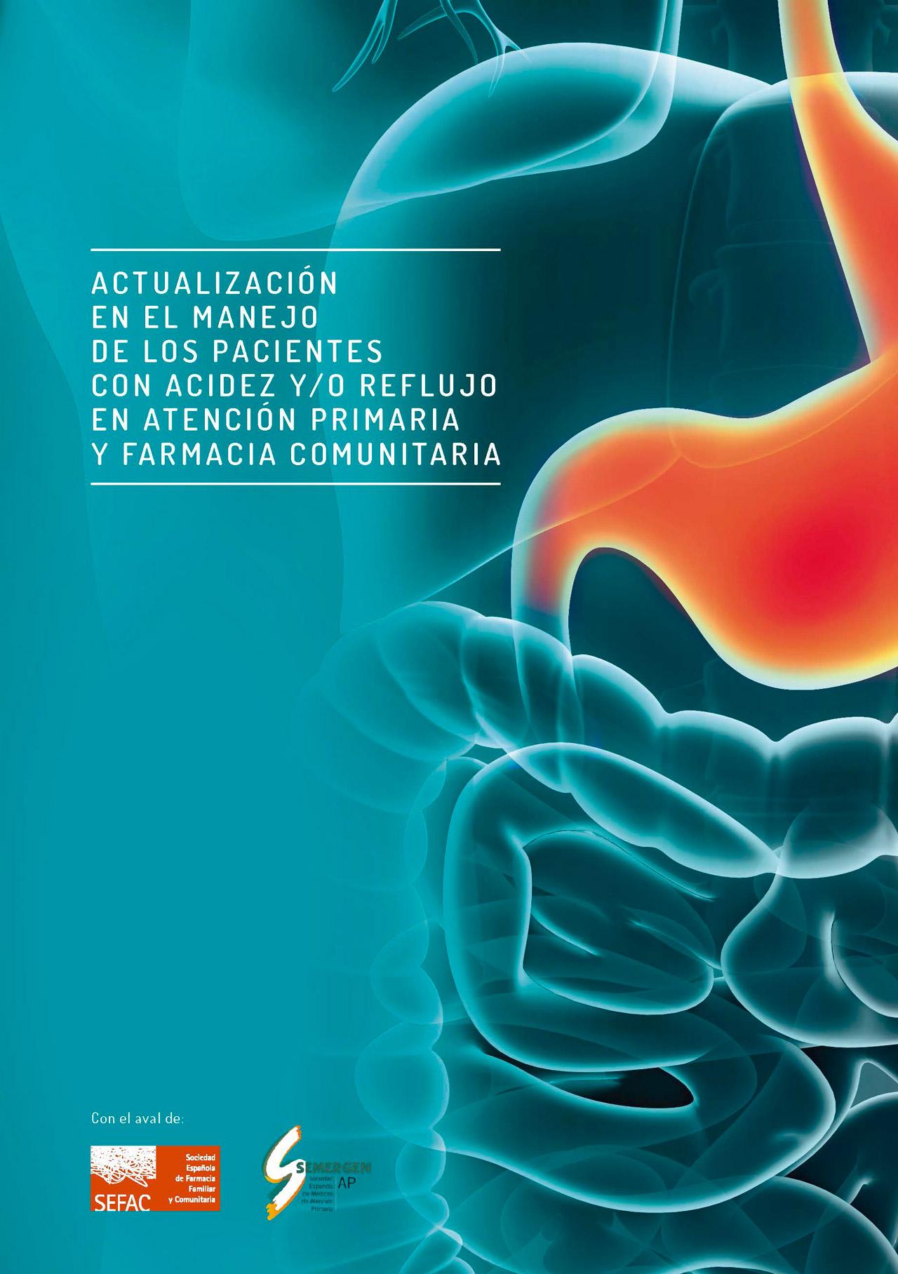 Guía sobre acidez y reflujo avalada por Sefac y Semergen.